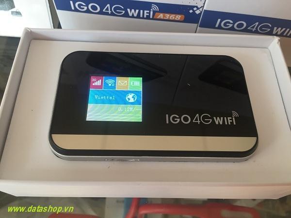 Bộ phát Wifi 4G IGO A368 sử dụng tại Việt Nam và 10+ quốc gia khác