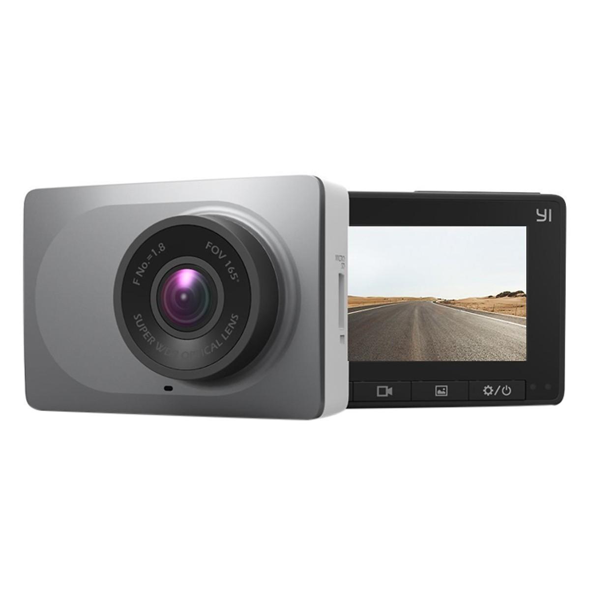 Camera Hành Trình Yi Smart Dash Cam DVR 2K 1296p Quốc Tế - Hàng Chính Hãng