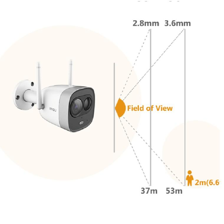 Camera IP hồng ngoại không dây 2.0 Megapixel DAHUA IPC-G26EP-IMOU