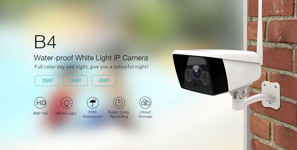 CAMERA IP WIFI - NGOÀI TRỜI VIMTAG B4, 1080P, MODEL 2020