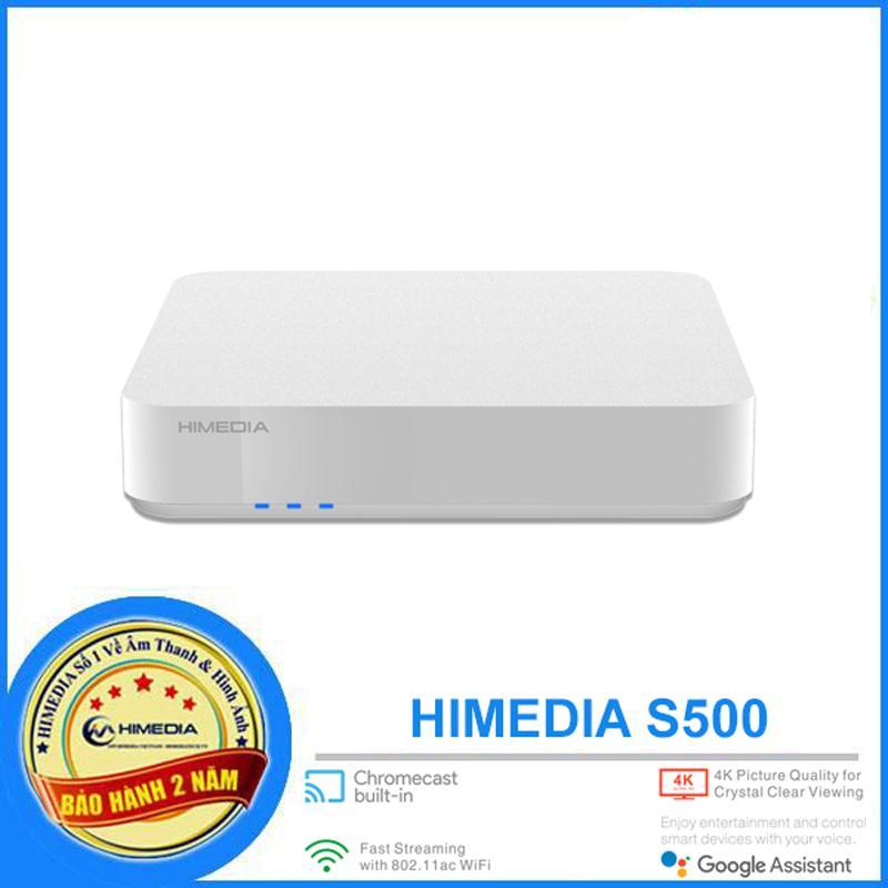 HIMEDIA S500 - ANDROID TV CHÍNH CHỦ GOOGLE 9.0, RAM 2G, CÓ CỔNG QUANG. ANDROID TV BOX SIÊU PHẨM 2020