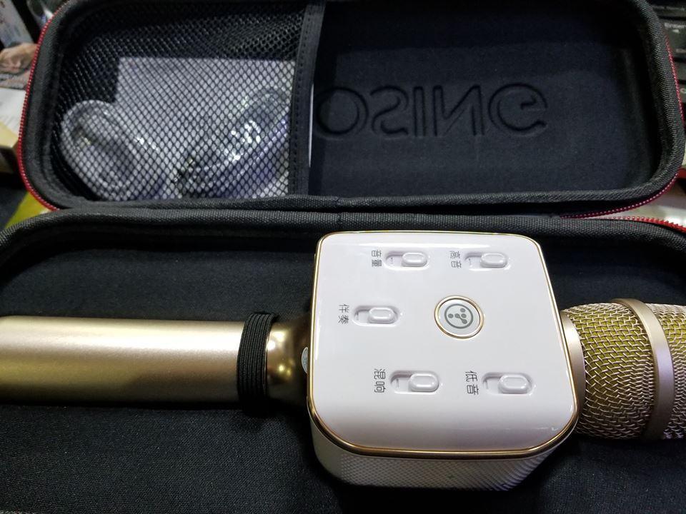 Micro karaoke không dây kết nối bluetooth Toshing Q11