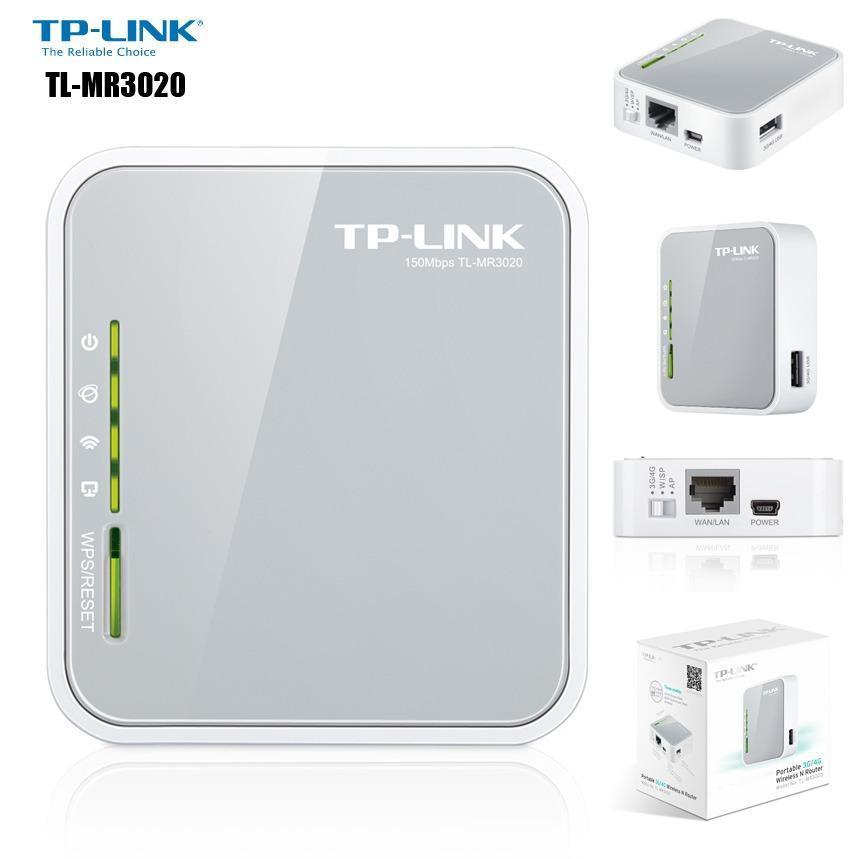 TP-LINK TL-MR3020 - BỘ PHÁT WIFI DI ĐỘNG TỪ USB 3G