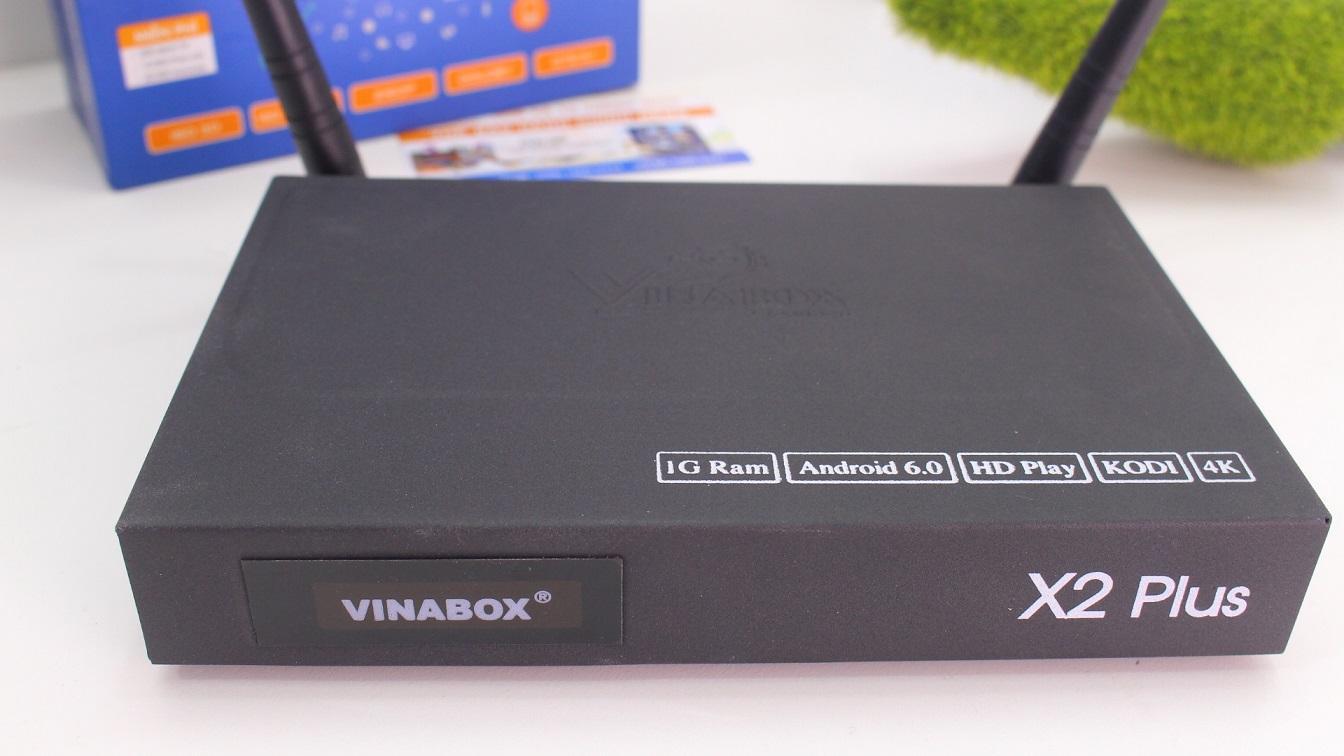 VINABOX X2 PLUS VER 2- ANDROID 7.1.2 SẮC NÉT, MƯỢT MÀ, KHẲNG ĐỊNH GIÁ TRỊ THỰC.