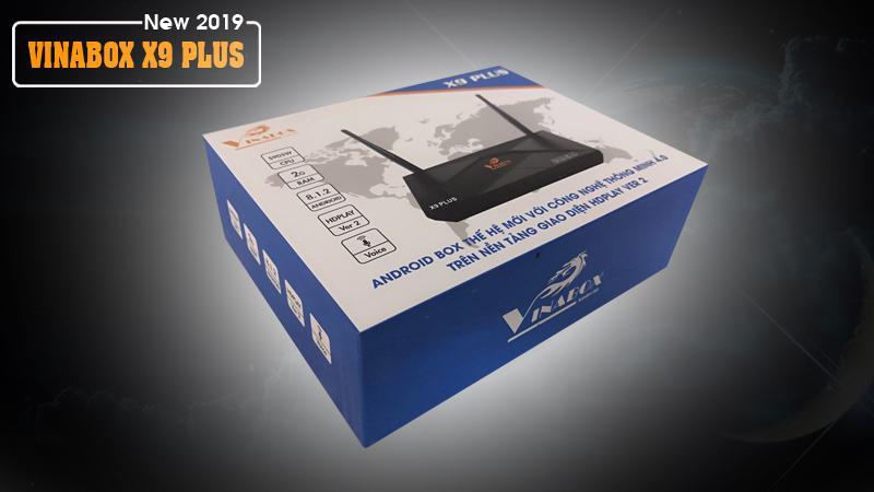 VINABOX X9 PLUS - ĐIỀU KHIỂN BẰNG GIỌNG NÓI - THIẾT KẾ ĐẲNG CẤP - CẤU HÌNH MẠNH MẼ - 4K HDR