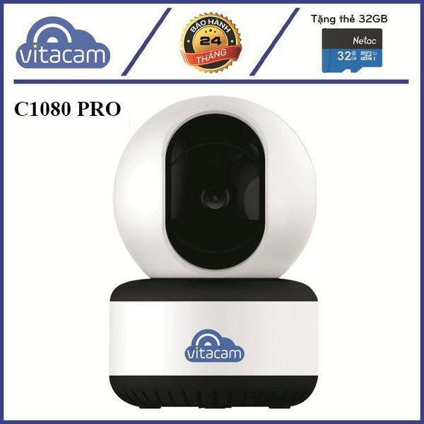 VITACAM C1080 PRO - 3.0MPX FULL 1296P - CÔNG NGHỆ AI MỚI NHẤT NĂM 2020